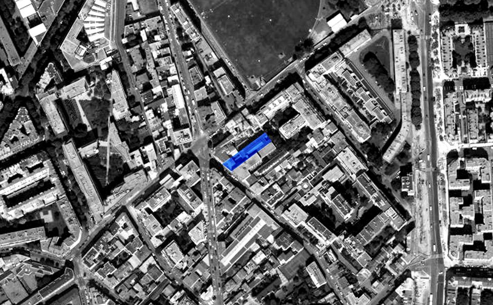 Hôtel Rue Penaud: Vue aérienne