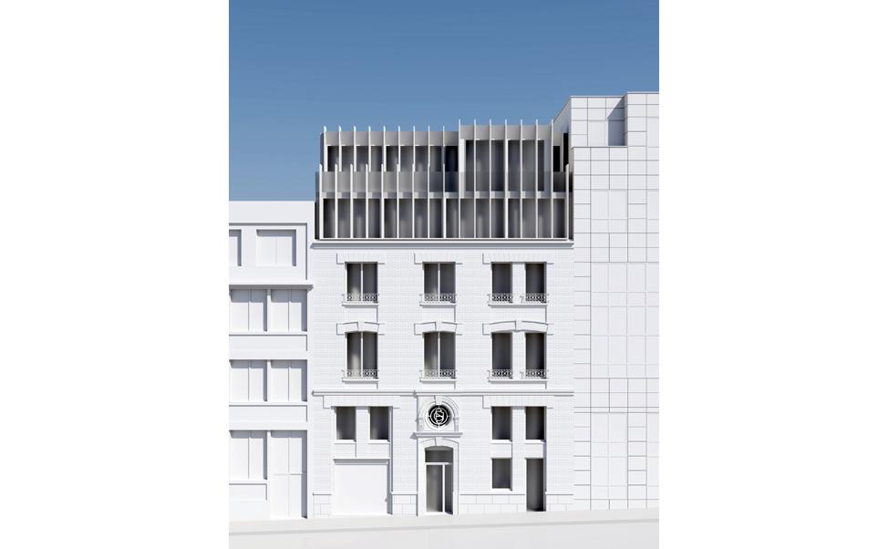 Hôtel Rue Penaud: Façade