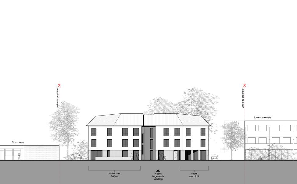 Projet de construction de deux maisons d 39 accueil au for Projet de construction de maison
