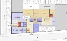 Projet pour la construction d'une résidence service à Aubervilliers