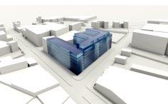 Etude pour l'implantation d'un ensemble immobilier à Aubervilliers