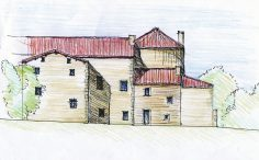 Réhabilitation d'un manoir du XIVème siècle