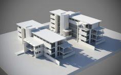 Projet pour la construction de 2 immeubles de logements HQE à Messein