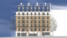 Restructuration d'un immeuble de logements, Avenue Parmentier à Paris
