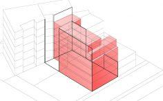 Projet de construction d'un immeuble de logements, Rue Labat à Paris
