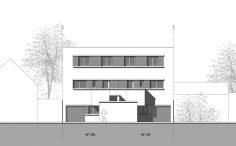 Projet de maisons mitoyennes à Bagneux